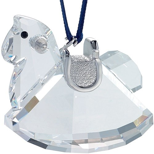 Swarovski Crystal Rocking Flowers (Swarovski Crystal Rocking Horse Ornament)