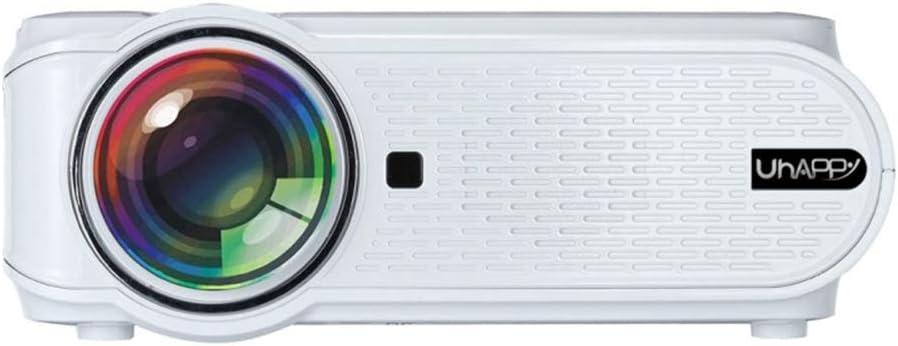 Opinión sobre AN U90 Mini Proyector,Proyector Portátil Multimedia con Control Remoto Motor Óptico DLP con Protección Ocular Adecuado para Videojuegos En El Aula