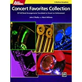 Accent on Performance Concert Favorites Collection for Baritone Saxphone: 22 Full Band Arrangements Correlated to <i>Accent on Achievement</i> (Saxophone)