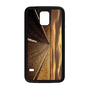 Road Samsung Galaxy S5 Cell Phone Case Black xlb-190433