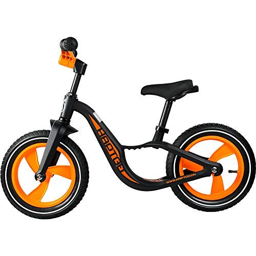 HAPTOO Toddler Balance Bike for Boys Girls, No Pedal/No Training Wheels Kids Bike Bicycle [for 2 3 4 5 Years Old] Best Gift for Children - Black -  WB-M01