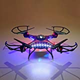 Womail Upgrade JJRC H8D 4CH 5.8G FPV RC Quadcopter Drone HD Camera + Monitor+ 4 Battery