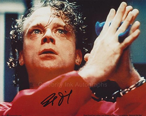 BRAD DOURIF as Luther Lee Boggs - The X-Files GENUINE AUTOGRAPH