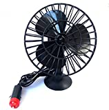 Yosoo New 12v Mini Air Fan Cooler Powered Truck Car Vehicle Cooling Adsorption Summer Gift