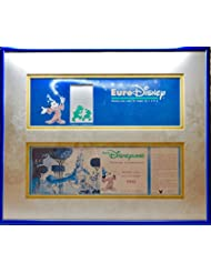 1992 Euro Disney Passport Commemorative Ticket - Numbered - Matted & Framed - Rare