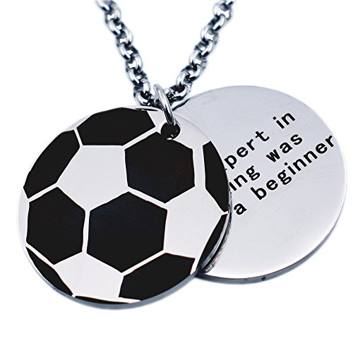 N egret Personalized Basketball Necklaces Inspirational product image