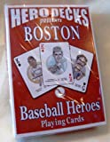 Boston Baseball Heroes : Playing Cards, , 0974724475