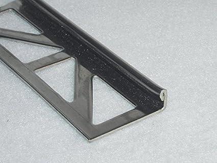 8 mm hoch Kurt Neidull Fliesen-Abschlussschienen aus Edelstahl