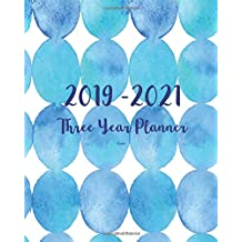 2019-2021 Three Year Planner-Circles: 36 Months Planner and Calendar,Monthly Calendar Planner, Agenda Planner and Schedule Organizer, Journal Planner and Logbook, Appointment Notebook, Academic Student Planner for the next three years (3 year calendar/3 year diary/8 x 10)
