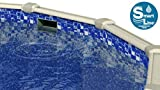 Smartline Round or Oval Liner | 54-Inch Wall Height | UniBead Style | Designed for Steel Sided Above-Ground Swimming Pools
