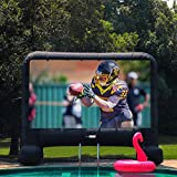 VIVOHOME 15ft Indoor and Outdoor Inflatable Blow up Mega Movie Projection Screen