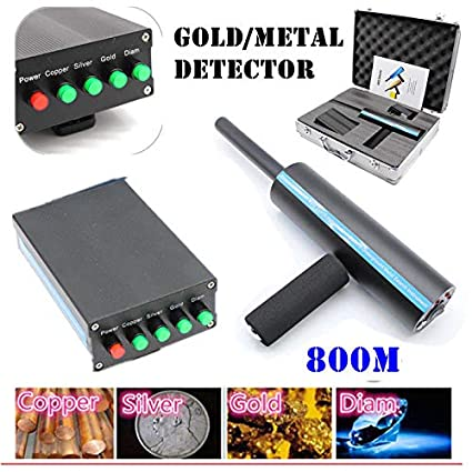 Amazon.com : KANING Detective Metal Detector, 800M AKS Handhold 3D Metal/Gold Diamond Miner Detector Long Range Finder Machine USA Stock (Black) : Garden & ...