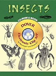 Insects CD-ROM and Book (Dover Electronic Clip Art)