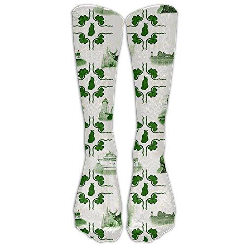 - Beaver Island Tiles Socks Crazy Socks For Women & Men One Size