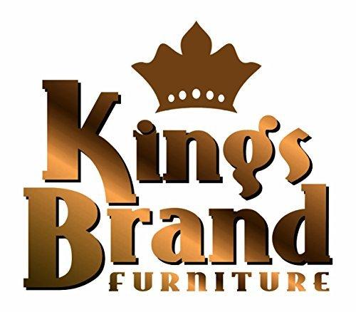 Kings Brand Furniture Microfiber Kids Recliner Chair with Cup Holder, Dark Brown