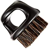 Knuckle Brush (Essential Tool For Professional Barbering & Grooming Services) (Matted Black)