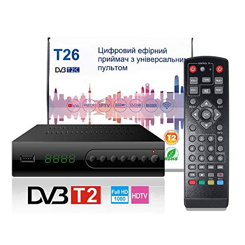 MeterMall Smart for DVB T2 Terrestial Receiver Supports Mpeg4 H.264 YouTube WiFi Adapter Iptv Av Hdmi Output Metal Case
