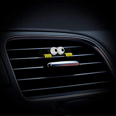 DEMUR Car Air Freshener by Independent Designer,I Am Watching You,Photosynthesis & Cold Arms Scent-up to 40 Days-Yellow: Automotive