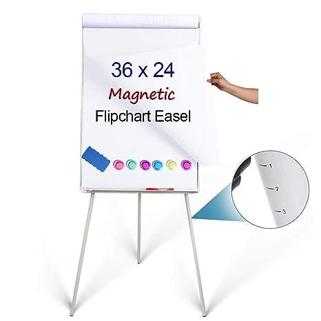 Amazon.com: DexBoard - Pizarra blanca con trípode: Office ...