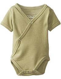 Unisex Baby Organic Short-Sleeve Kimono Bodysuit