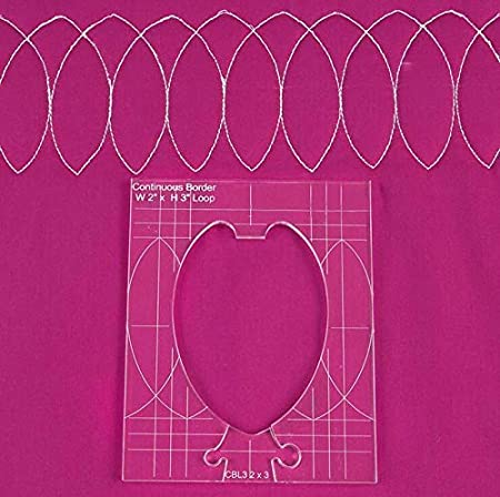 Set 6Pcs #Rl-06 New Rulers Template for Quilting Template Plastic for Quilting Support Drawing +999 Special Lines by Vnhome
