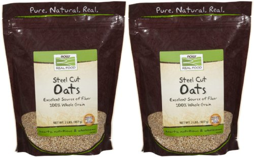 NOW Foods Steel Cut Oats - 2 lb - 2 pk