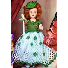 IRISH COLLEEN DOLL - A Vintage 1951 Crochet Pattern ~ Kindle eBook Download (Ireland, Irish, St Patrick's Day, Dolly, Toys, Girls)