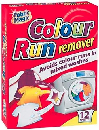 KB El eliminador de color evita que el color se corra en lavados mixtos. Tela magia. 12 hojas
