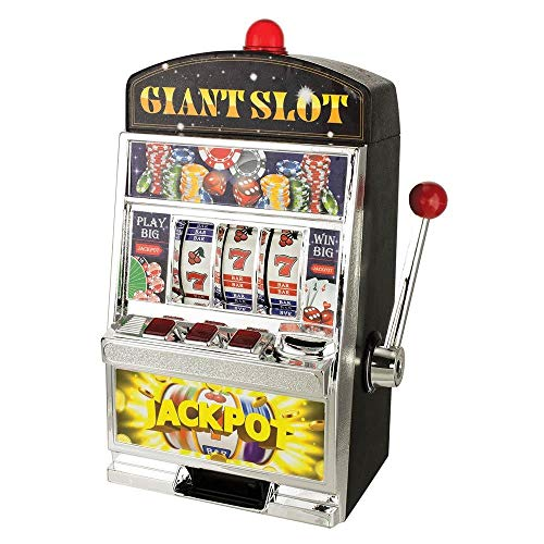 Smart Living Company GIANT SLOT MACHINE BANK (Bank Jumbo Slot)