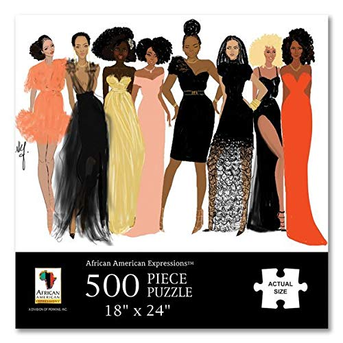 "Search : African American Expressions - Sister Friends Puzzle (500 Pieces, 24"" x 18"") PUZ-13"