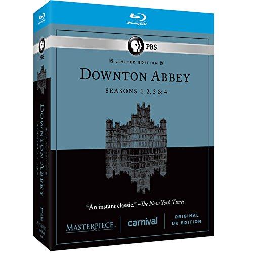 Masterpiece: Downton Abbey Seasons 1, 2, 3, & 4 [Blu-ray] (Downton Abbey Season 1 Blu Ray)