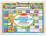 Melissa & Doug Magnetic Responsibility Chart (Developmental Toy, Encourages Good Behavior, 89 Magnets)