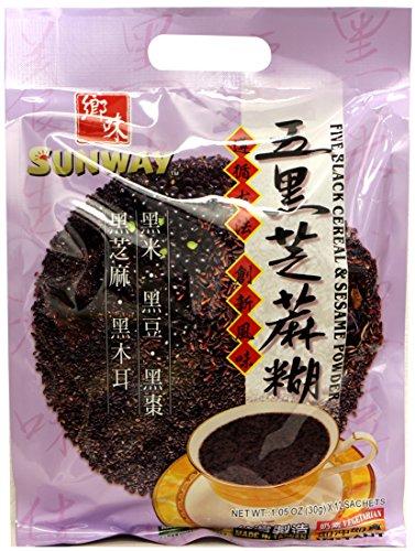 五黑芝麻糊 Sunway Five Black Cereal & Sesame Powder 12.6oz