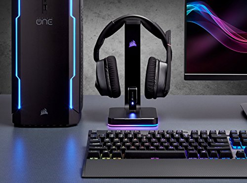 Corsair St100 Rgb Premium Rgb Gaming Headset Stand With