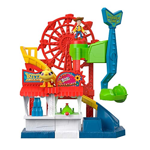 Toy Story Fisher-Price Disney Pixar 4 Carnival Playset Now $16.97 (Was $29.99)