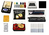 PuriTEST Brand PAY LESS-DIAMOND TESTER-SCALE 1000 gr -GOLD TEST KIT-FREE EXTRA ITEMS HERE