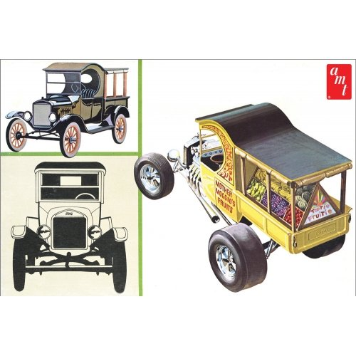 Ford T 1925 Fruit Wagon 1:25 Scale Model Kit