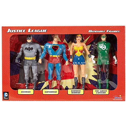 Justice League Bendable Boxed Set - NJ Croce ()