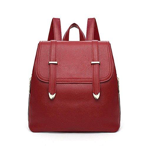 Aoligei Femmes sac à dos version coréenne fashion Girl sac école vent lady sac voyage sac à dos B