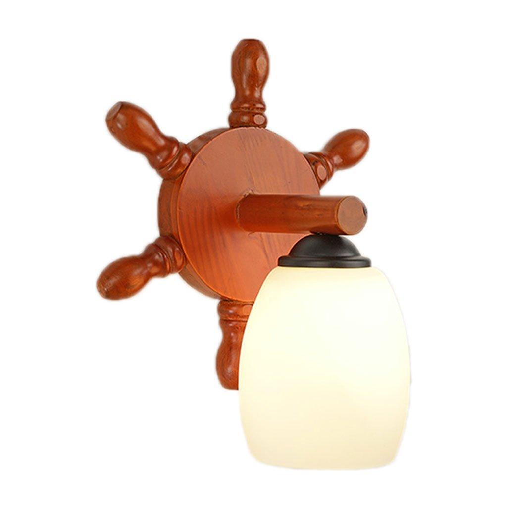 Unbekannt HUYP Massivholz Nachttischlampe Schlafzimmer Wohnzimmer Kinderzimmer Treppenlicht