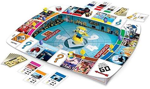 Hasbro Monopoly - GRU, Mi Villano Favorito (versión en alemán): Amazon.es: Juguetes y juegos