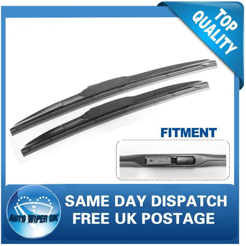 Windscreen Wiper Blades x 2 Front Set TWMC