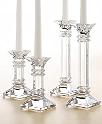 """Waterford TREVISO CANDLESTICK 8"""" PAIR"""