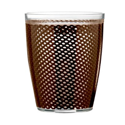 Fishnet Double Wall Insulated Tumbler II (Set of 4) Color: Chocolate