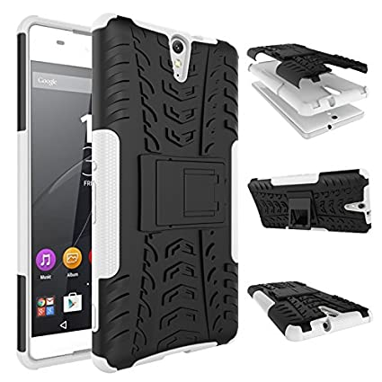 new style e3a8a d35ad Amazon.com: Sony Xperia C5 Ultra Case, SsHhUu Tough Heavy Duty Shock ...
