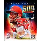 Albert Pujols 500th Career Home Run Portrait Plus Art Poster PRINT Unknown 8x10