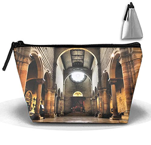 d2dc7939dcfe Women's Travel Cosmetic Bags Basilica Of San Zeno Verona Small Makeup  Clutch Pouch