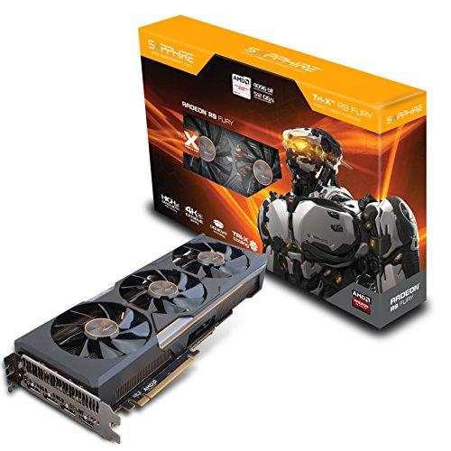 Sapphire Radeon R9 Fury 4GB HBM HDMI / TRIPLE DP Tri-X (UEFI) PCI-Express Graphics Card ()