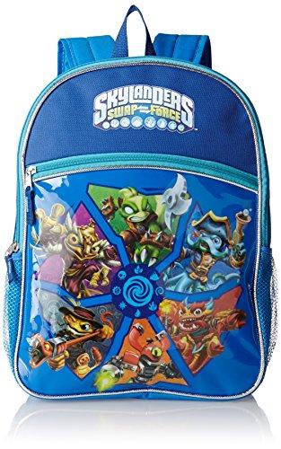 (FAB Starpoint Big Boys' Skylanders 16 Inch Flat Front Backpack, Multi, One)