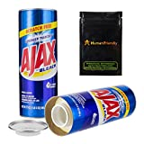 HumanFriendly Ajax Diversion Safe Stash Can w Smell-Proof Bag